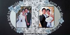 DIY Classic Wedding Scrapbook: To Have And To Hold by Simply Kelly Designs…