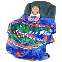 NCAA Florida Gators Throw Blanket