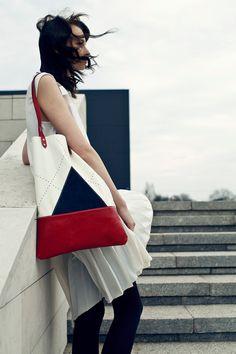 Nautical Leather Tote bag No. TL- 5001