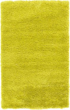 Luxe Solo Yellow Area Rug