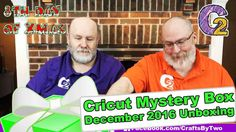 """Cricut Mystery Box - December 2016 Premium Unboxing - http://www.craftsbytwo.com/cricut-mystery-box-december-2016-premium-unboxing/ Cricut doesn't skimp for the 12 days of Christmas. Giving us a Premium edition Cricut Mystery Box! Join us to see what we received this month!  Visit our blog for easy shopping links, the best coupon code, and a list and of the contents if you don't want to watch the video!  Check out """"Cricut Mystery Box - December 2016 Premium Unboxing"""" on"""