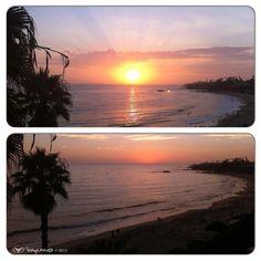 Photo by wyland • Instagram    #LagunaBeach #sunset #wyland
