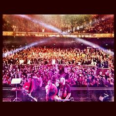11/9/12 The Wiltern — Los Angeles, CA #iration last show of the 9 week #dominationtour2012 with @theexpendables and @ciscoadler. California love!! #soldoutshow (at Paradise)
