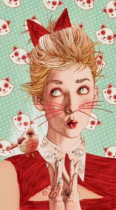 Ëlodie, french illustrator - La Marelle Editions -