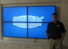 SUPER PC Quad 46 Inch Video Wall Display
