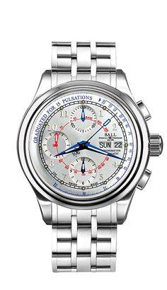 BALL Pulsemeter Chronometer CM1010D-SCJ-SL, 50 m, 41mm, 7750,  ~$2200 jomashop