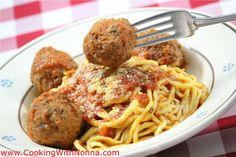 Spaghetti & Meatballs - Cooking with Nonna