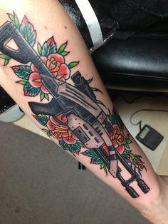 M-92 Mantis tattoo