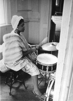 Dinah Washington Re-pinned by ‪#‎KNCS‬ #‎InteriorDesign‬ #drums