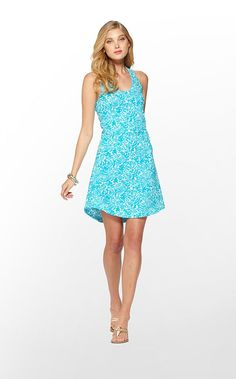 f43b13f3a570 Cordon Dress -Lilly Pulitzer Turquoise Party