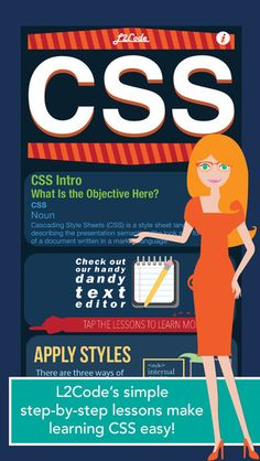 Master your control over the look and formatting of your webpages to create professional and polished webpages directly from your iPhone or iPad with L2Code CSS.