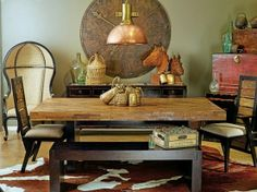 horse ranch decor | Zen horse ranch | Stylish Western Home Decorating | Western home decor