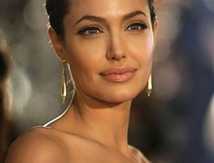 the most beautiful woman in the world:  Angelina Jolie. by katee