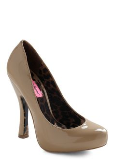 pump (note the leopard on the inside of the heel - love it!)