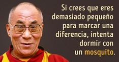 Si lo dice el Dalai Lama, es ley