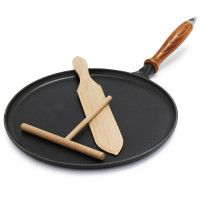 Staub® Cast Iron Crepe Set - From The Home Decor Discovery Community at www.DecoandBloom.com