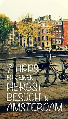 Amsterdam ist immer schön, im Frühling, Sommer, Herbst und Winter. Was die regnerische Jahreszeit den anderen aber voraus hat, ist, dass Amsterdam dann auch angenehm ruhig ist. Im Herbst muss man sich in Hollands Hauptstadt nicht durch die Museen quetschen oder sich in überfahrenen Straßen zurechtfinden.