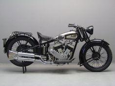 1931 AJS  S2 996cc V Twin