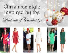 Christmas style inspired by Kate Middleton