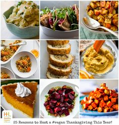 25 Reasons to Host a Vegan Thanksgiving This Year! + Recipes