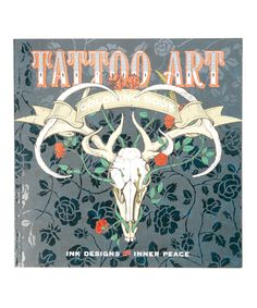 Tattoo Art Paperback Coloring Book By Sterling Zulily Zulilyfinds