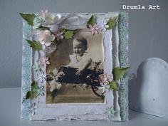 Drumla Art Vintage Cards, Frame, Home Decor, Kids Cards, Homemade Home Decor, A Frame, Frames, Hoop, Decoration Home