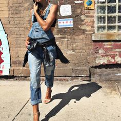 Overall obsessed. || Shop the look: http://www.nastygal.com/product/nasty-gal-over-it-denim-overalls?utm_source=pinterest&utm_medium=smm&utm_term=nastygals_do_it_better&utm_campaign=ngdib