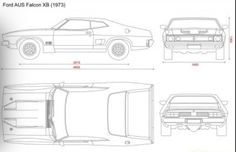 Ford Falcon XB Fairlane ZG Wiring Diagram Photo This Photo was