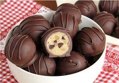Csoki és diódarabos trüffel (lépésről lépésre) - www.kiskegyed.hu