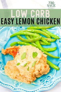 Lemon and chicken go together like peas and carrots. It's a match made in heaven. When these two flavors are mixed together, magic happens. Add a cream sauce and wow! #easyrecipes #onthetable #dinner #chickenrecipes #lowcarbrecipes Best Low Carb Recipes, Low Carb Chicken Recipes, Low Carb Pizza, Low Carb Lunch, Ketogenic Recipes, Keto Recipes, Healthy Recipes, Creamy Lemon Chicken, Low Carb Chili