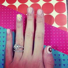 Our Styled Suburban Life: Donut Nails