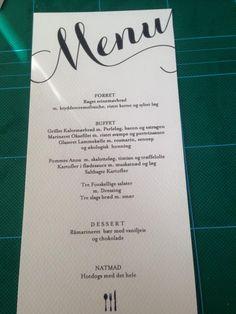Må jeg se jeres menu hæfter?