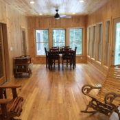 Custom tongue and groove wood paneling for walls and ceilings, tailored to the look & style you want. Pine paneling, cedar & many hardwood species. Ash Flooring, Hardwood Floors, Tongue And Groove Panelling, Ship Lap Walls, Wood Paneling, Black, Ideas, Home, Products