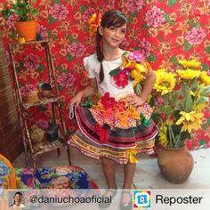 "Repost de por ""Beautiful Matuta of my … - Moda Infantil Country Dresses, Tutu, Summer Dresses, Beautiful, Womens Fashion, Party, Instagram Posts, Clothes, Children"