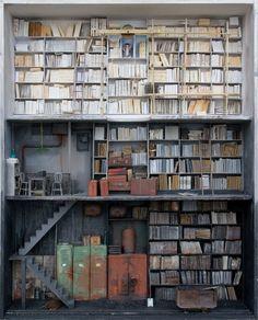 Marc Giai-Miniet y sus casas de muñecas inquietantes   En la estantería: Curación de contenido cultural