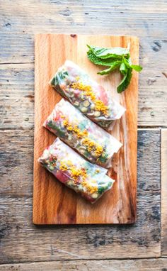 ... on Pinterest | Fresh spring rolls, Spring rolls and Rice paper rolls