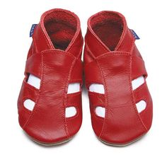 Inch Blue - Sandals - Red
