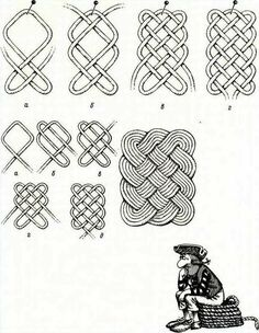 Carpet Runners For Stairs Canada Code: 2319611125 Paracord Knots, Rope Knots, Macrame Knots, Micro Macrame, Rope Rug, Decorative Knots, Macrame Hanging Planter, Nautical Knots, Knot Pillow