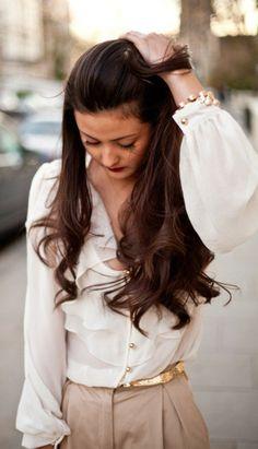 Para tener el cabello perfecto, hay que partir de lo básico: seguir una alimentación saludable