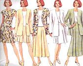 Butterick Sewing Pattern 4506 Misses' / Miss Petite Jacket, Top, Skirt, Shorts