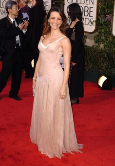 Kristin Davis Golden Globes 2004