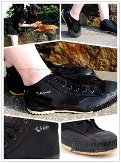 Feiyue High Top Black Shoes  http://www.icnbuys.com/feiyue-high-top-black-shoes.html