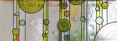 vodopád - závěsná vitráž