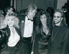 CA8 1990 Eddie Money Peter Frampton Pop Awards Beverly Wilshire Press Photo