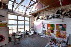 New Art Studio Space Atelier Lights Ideas Art Studio Design, My Art Studio, Painting Studio, Deco Design, Studio Ideas, Art Studio Spaces, Home Studio, Studio Room, Dream Studio