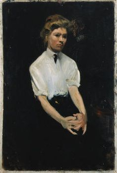 Portrait of Hettie Duryea Meade, Edward Hopper, 1905.