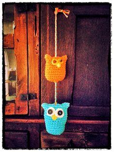 Adorno tejido al crochet.