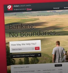 WhatArmy Website Design Client: Alden Credit Union