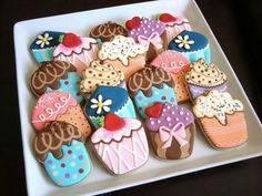 Mini Cakes Cookies