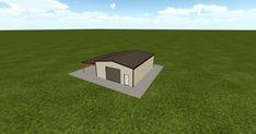 Cool 3D #marketing http://ift.tt/2E42MAo #barn #workshop #greenhouse #garage #roofing #DIY